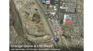 "Orange Grove I-10 Plaza One Lot from being ""Sold Out"" with these Recent Sales"
