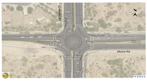 Oro Valley Roundabout construction begins September 18 – additional detour route added
