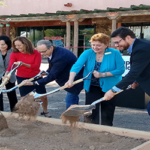 Sigma Contracting breaks ground at iconic Papago Plaza, will construct parking garage, retail and office buildings