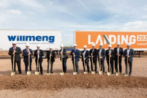 Willmeng Construction breaks ground on Landing 202