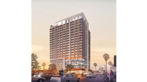 """Hensel Phelps breaks ground on 21-story """"small unit"""" apartment development in Roosevelt Row Arts District"""