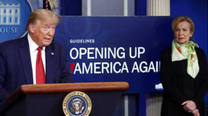 President Trump Unveils Guidelines on Opening Up America Again