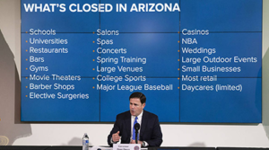 Arizona Governor Ducey Extends Stay Home Orders with Modifications through May 15th
