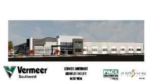 Tucson's Pace Construction Selected as Project Manager Developer for Vermeer Southwest Chandler Dealership