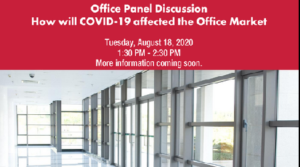 Southern Arizona Chapter of CCIM hosting Office Panel Webinar